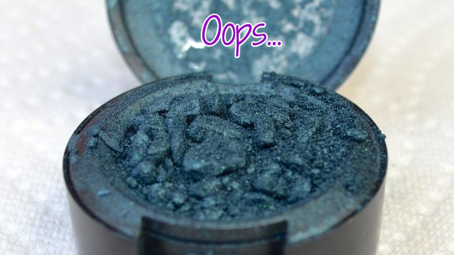 Have a broken eye shadow? Have no fear my friend, it can be fixed!