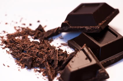 DARK CHOCOLATE with greater than 70 % cocoa improves blood flow to your heart and brain, makes blood platelets less sticky and less likly to clot it lowers blood pressure, reduces inflammation and oxidation, and calms stress hormones. Enjoy it often but in small quantities.