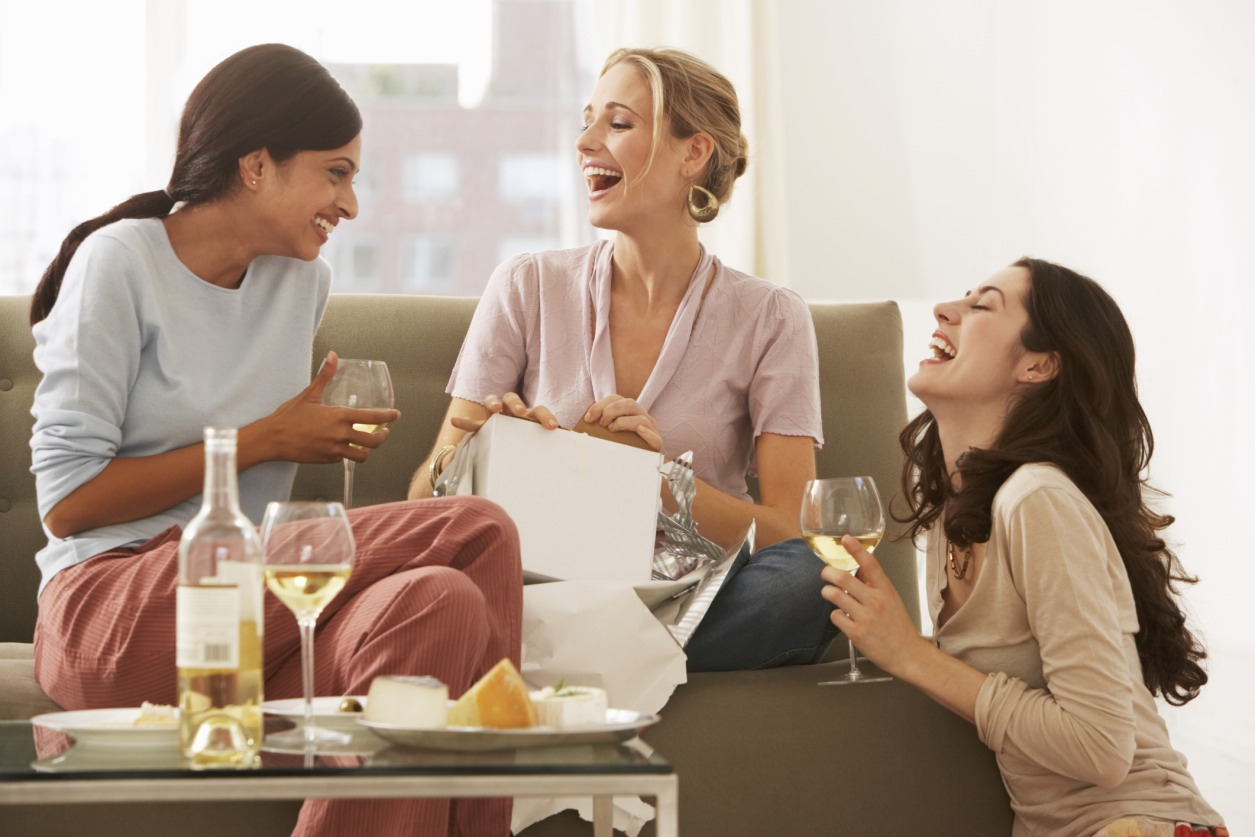 Hang out with friends who will cheer you up and help you forget about your heartbreak!