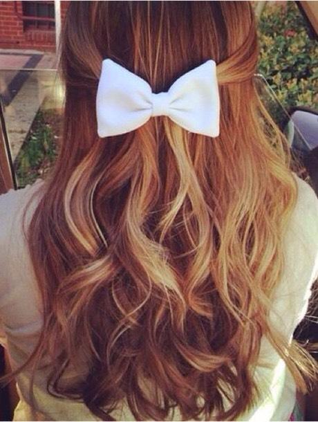 here's a simple but cute ombré hair