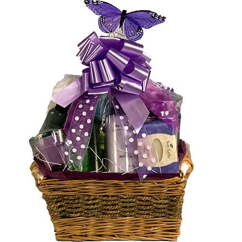 Imagine that filled mug as a miniature version of a gift basket. If you want, make a gift basket full of certain things.
