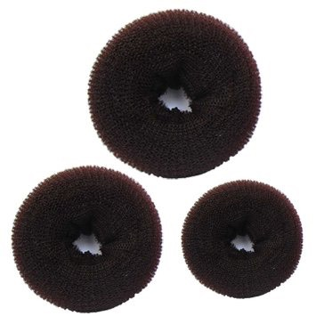 This is also another alternative. These sock buns have the rough texture that brush off your eyeshadow but not clean it. It has the same texture. It's also very inexpensive.