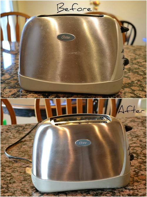 Clean your toasters with cream of tartar to return them to a brand new like state.