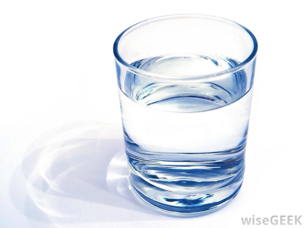 9. WATER Water. It's one of the things you should never forget to do. Even if you're not sick, you should still keep your body hydrated.