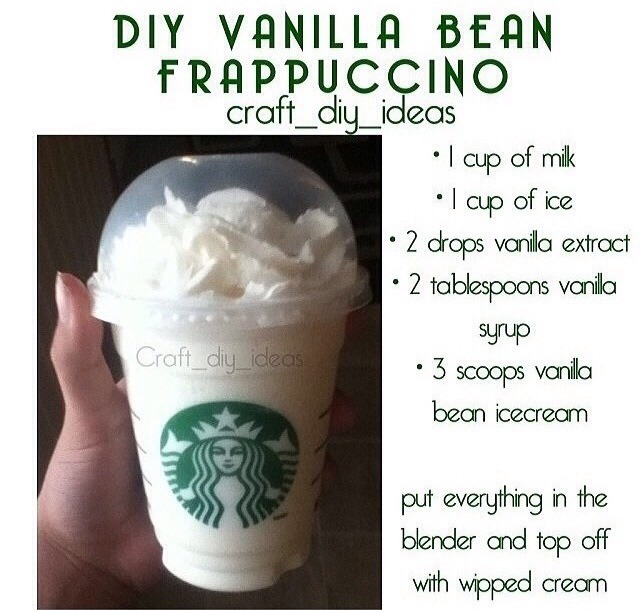 Vanilla Bean Frappe From Starbucks By Jo Musely