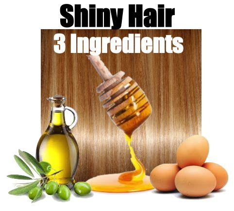 Mix 2 teaspoons of olive oil, 1 raw egg or normal a raw egg has more protein for your hair and it helps hair growth, and 3 teaspoons of raw honey