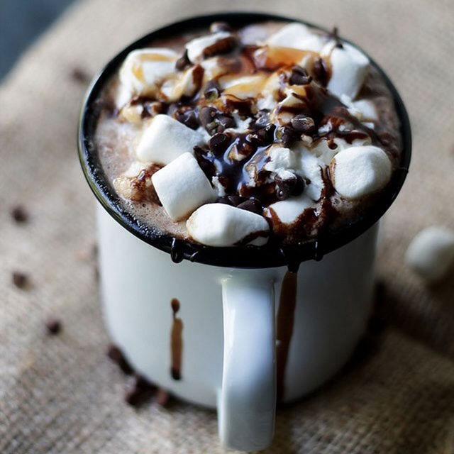 14. Mocha Hot Chocolate