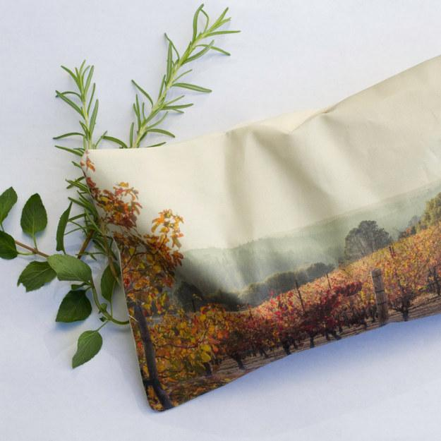 17. A microwavable heat pack.  https://www.etsy.com/listing/205471483/vineyards-in-the-fall-relaxation-pillow?source=aw&utm_source=affiliate_window&utm_medium=affiliate&utm_campaign=us_location_buyer&utm_content=181013