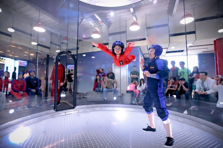 If you are scared, go indoor skydiving