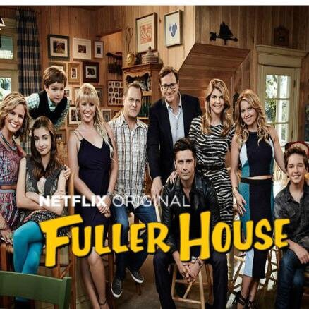 9) Fuller House This wasn't the best show, I have to say the original was so much better but it was still a good laugh 😊