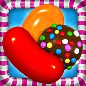 5,candy crush.