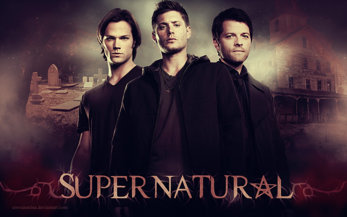 5)Supernatural  This literally is my favorite show ever. It is super funny plus about everyone in it is attractive. Not to mention has one of the biggest fan bases on tumblr. I mean if you can't beat them join em. 😉😂