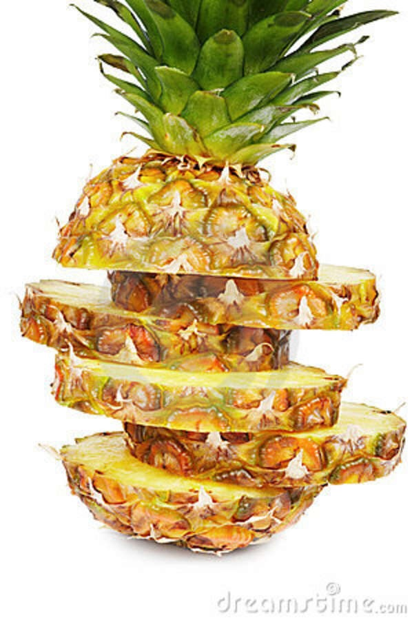 Pineapples possess enzyme bromelain which breaks down meat proteins 🍍