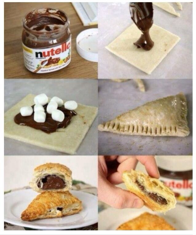 Nutella-Marshmallow-Croissant