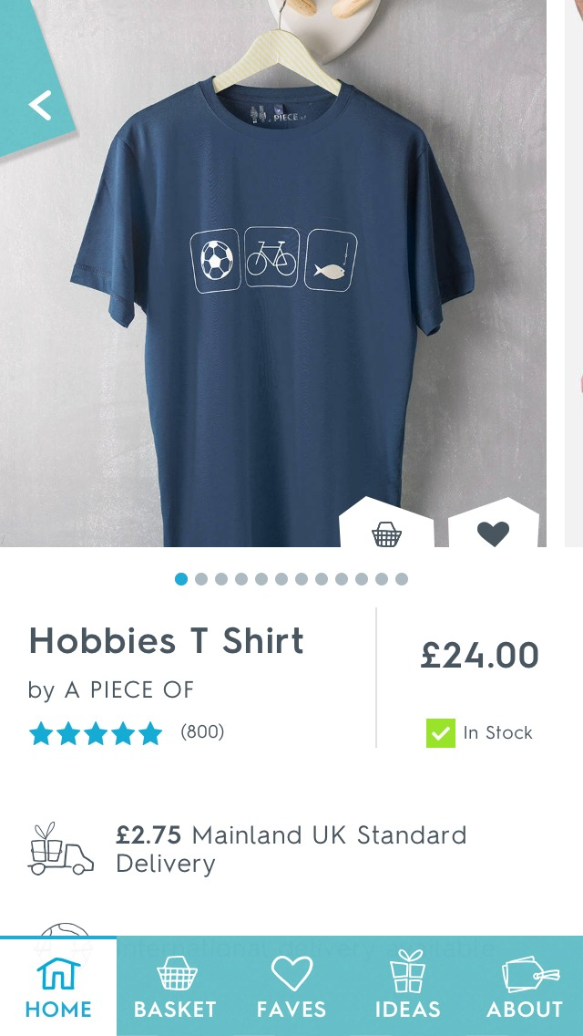 Hobbies t-shirt is an ideal gift for him as he can throw it on whenever he wants to