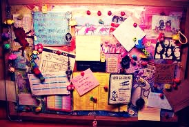 3. Get a Cork Board/memo Board, this will help you as you can stick like study notes and homework's on it📄