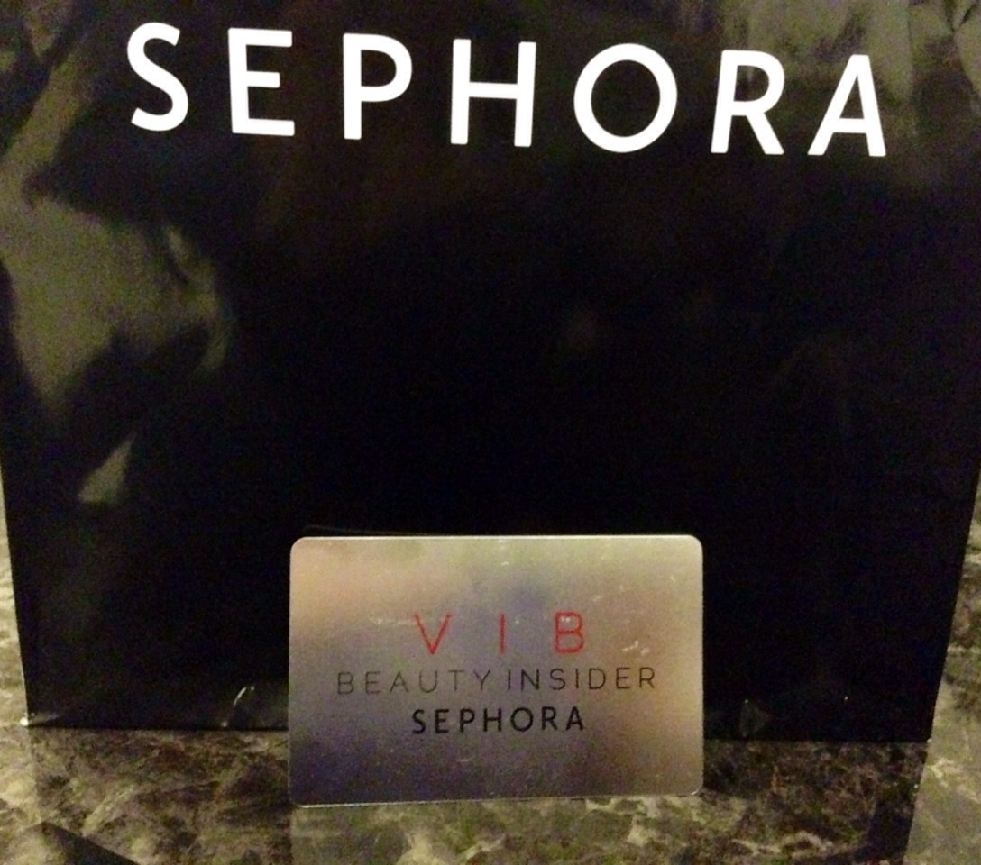 I have the VIB card :) One dollar spent = one beauty insider point! Easy peasy!