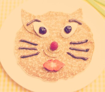 You can do a kitty cat pancake