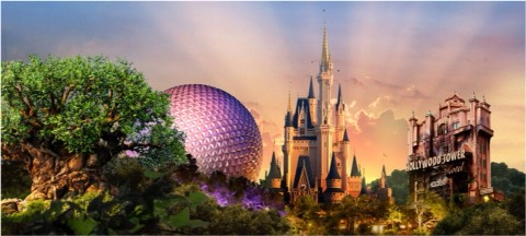 Epcot (EP): One of the four main Disney World theme parks.  Magic Kingdom (MK): One of the four main Disney World theme parks.