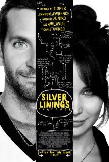 Silver Linings Playbook (2012)  This film is based 2 people that because of traumatic events, one divorced and the other is widowed, reach a breaking point and go crazy. Then they meet, but how long will it take them to realize they balance each other out.