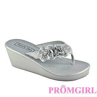 Sparkle Silver Sandals