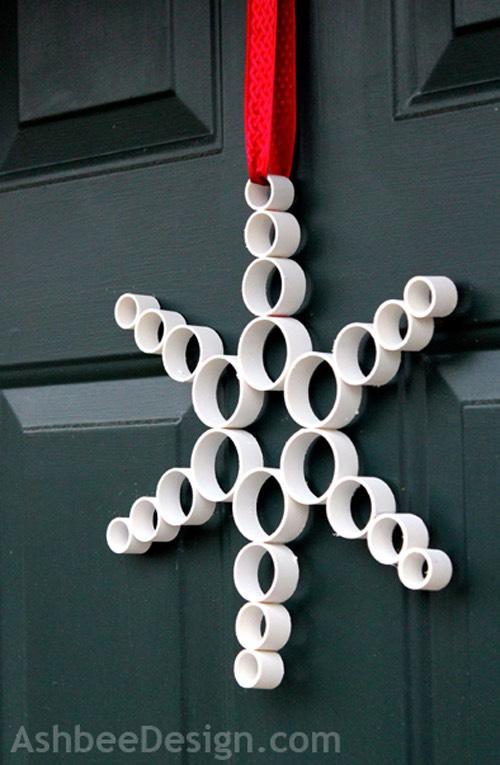 6. Create door decor.