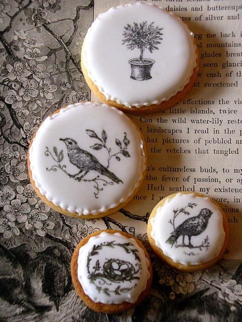 15. Stamped Fondant Cookies
