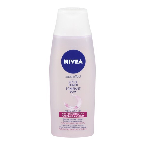 I love Nivea Gentle Toner because my skin is sensitive and can't take a lot of heavy products. It really helps with discoloration and never makes my skin oily or sticky!