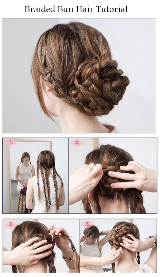 Here are some great and easy Braided Hairstyles Tutorials that will help you to get your perfect braid !!