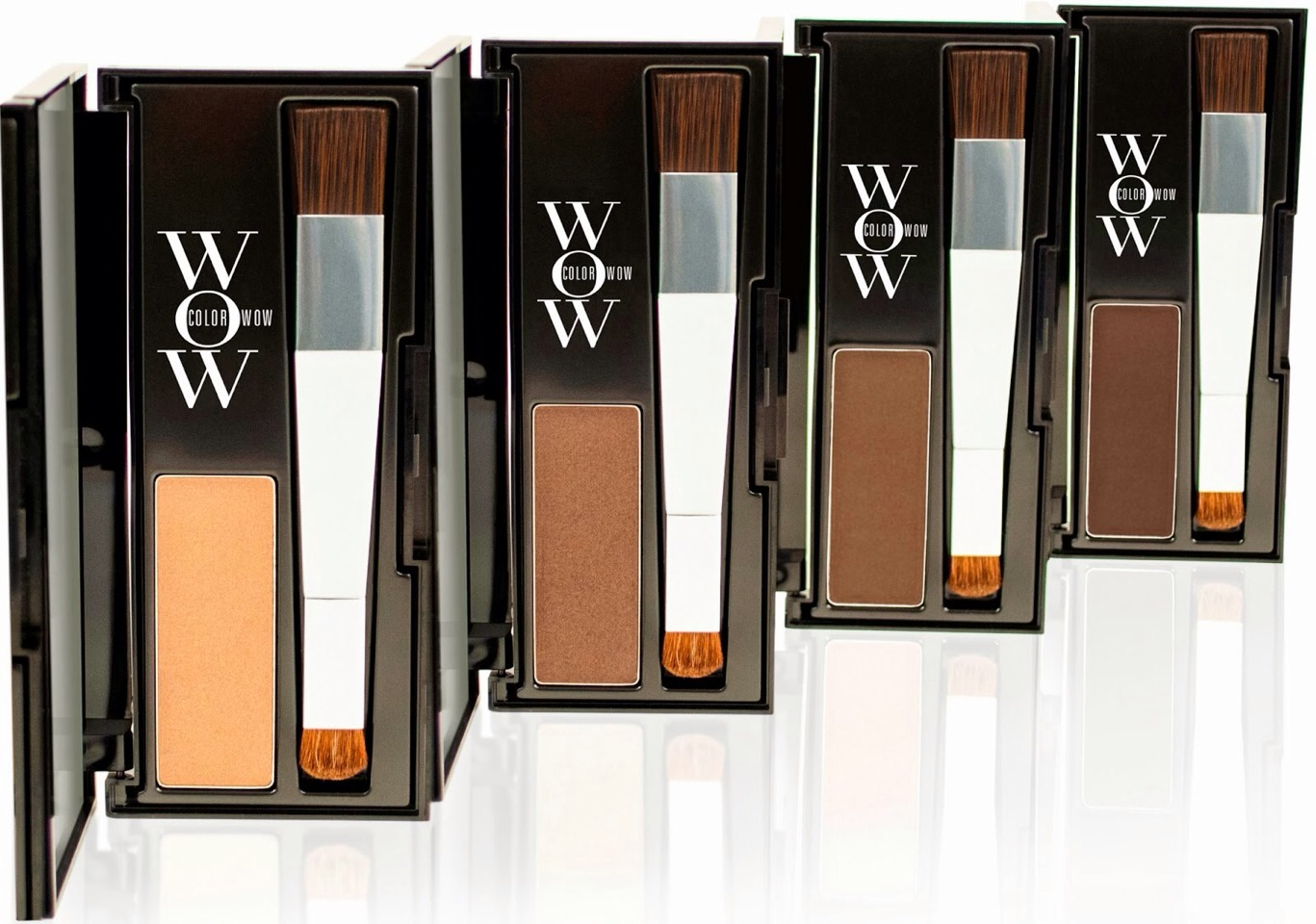 Color Wow is a powder that comes in different shades depending on your hair color. It helps blend in your roots with the rest of your hair without having to damage your hair with dye!