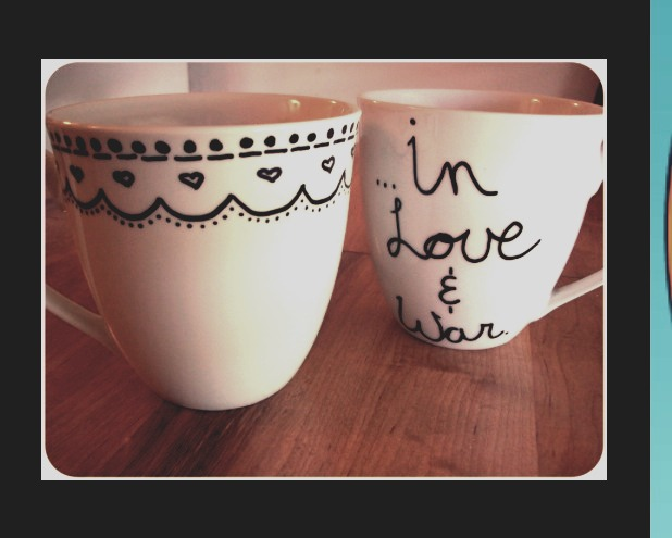 DIY sharpie mug!