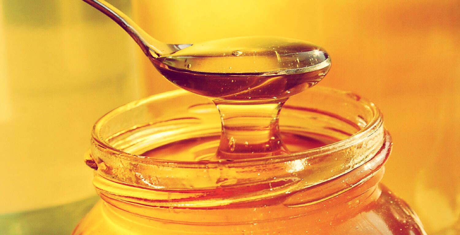 add 2 tablespoons of honey (organic,raw,natural). mix it with a spoon until it's at a liquid consistency.
