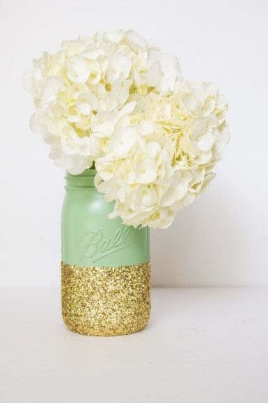 Glitter is always a good answer!
