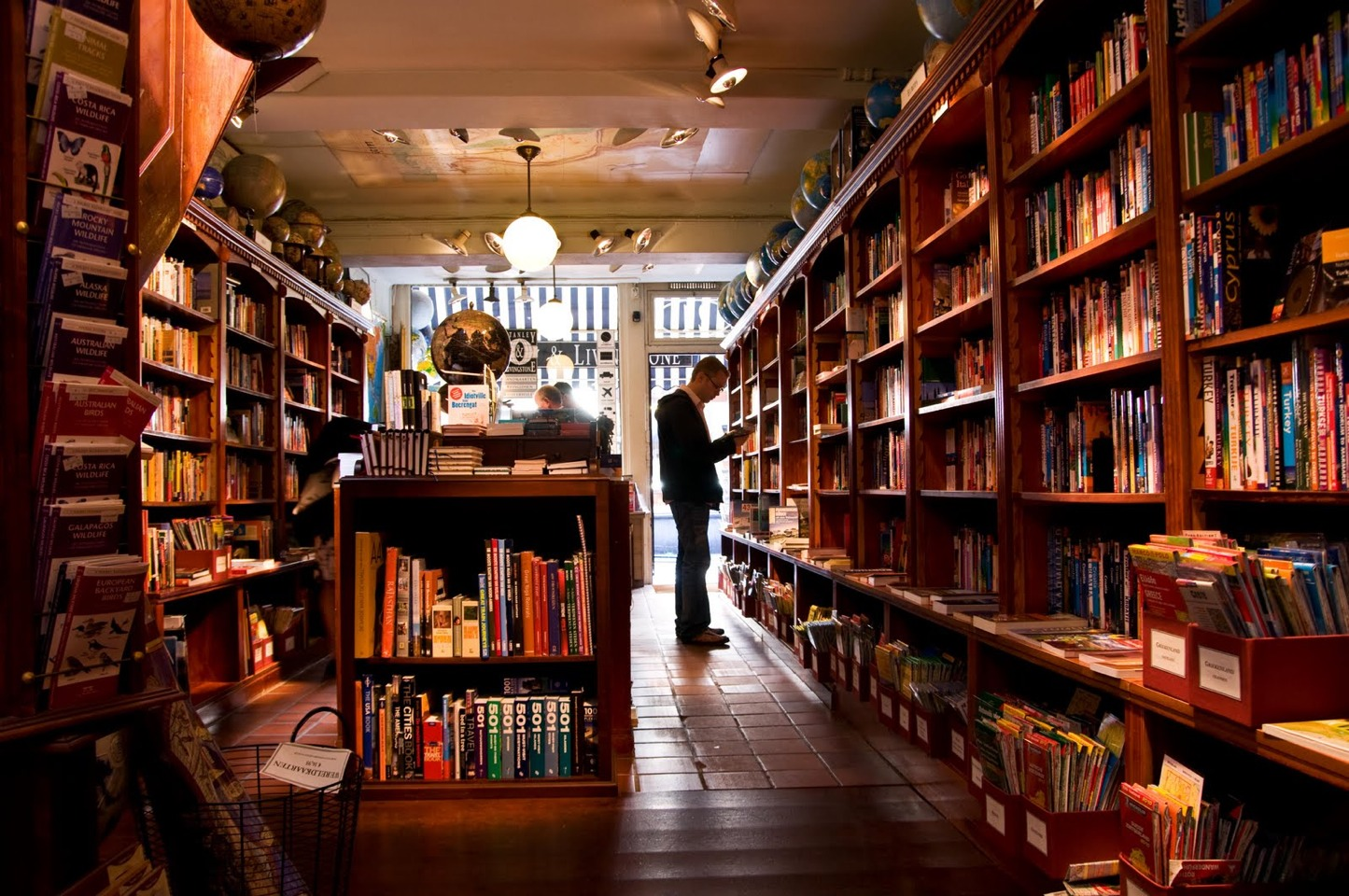 Go to a book store!