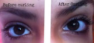 5. Curl Lashes Did you think that your lashes wouldn't featured in makeup tips for small eyes? No way! Your lashes can actually really make your eyes appear super big. What I do every morning to make  my eyes look bigger is curl my lashes.