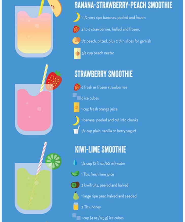 Summer smoothies!