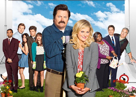 Parks and Recreation is such a funny show! It is so goofy and hilarious and you'll most likely always be laughing
