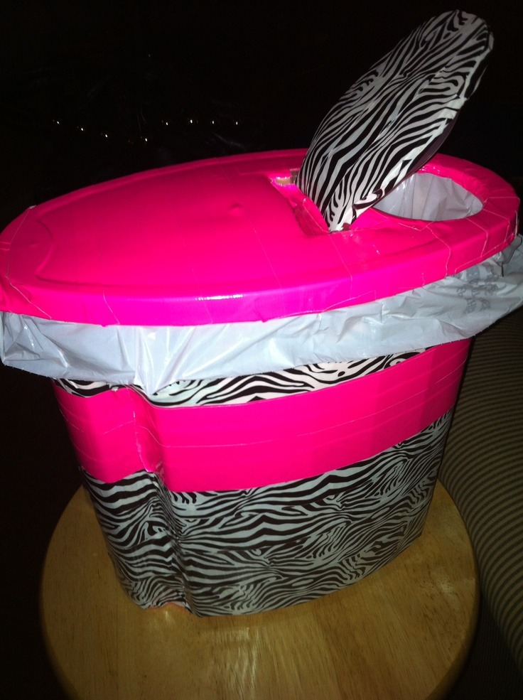 Turn a cereal container into a bin for your car or bathroom