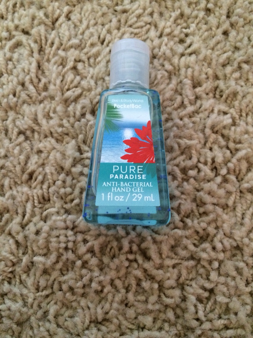 And another hand sanitizer because I'm obsessed with them.