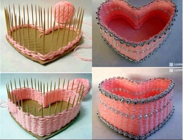 Cute DIY baskets. Great little project if you have young girls