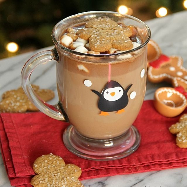 3. Gingerbread Hot Chocolate