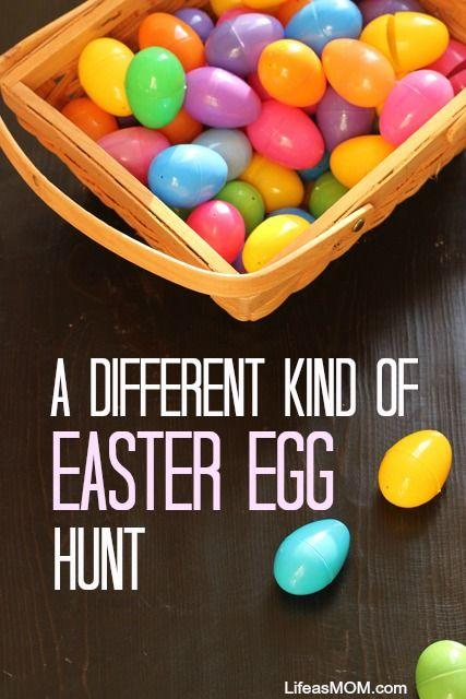 hide little toys in the Easter eggs instead of candy