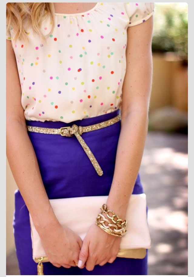 Choose small details that make the whole difference for a remarkable outfit