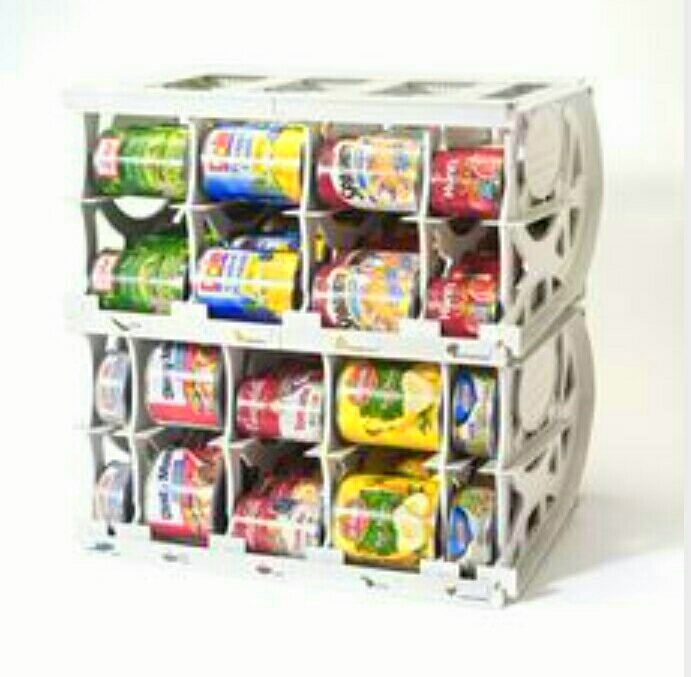 I love this I idea for cans.