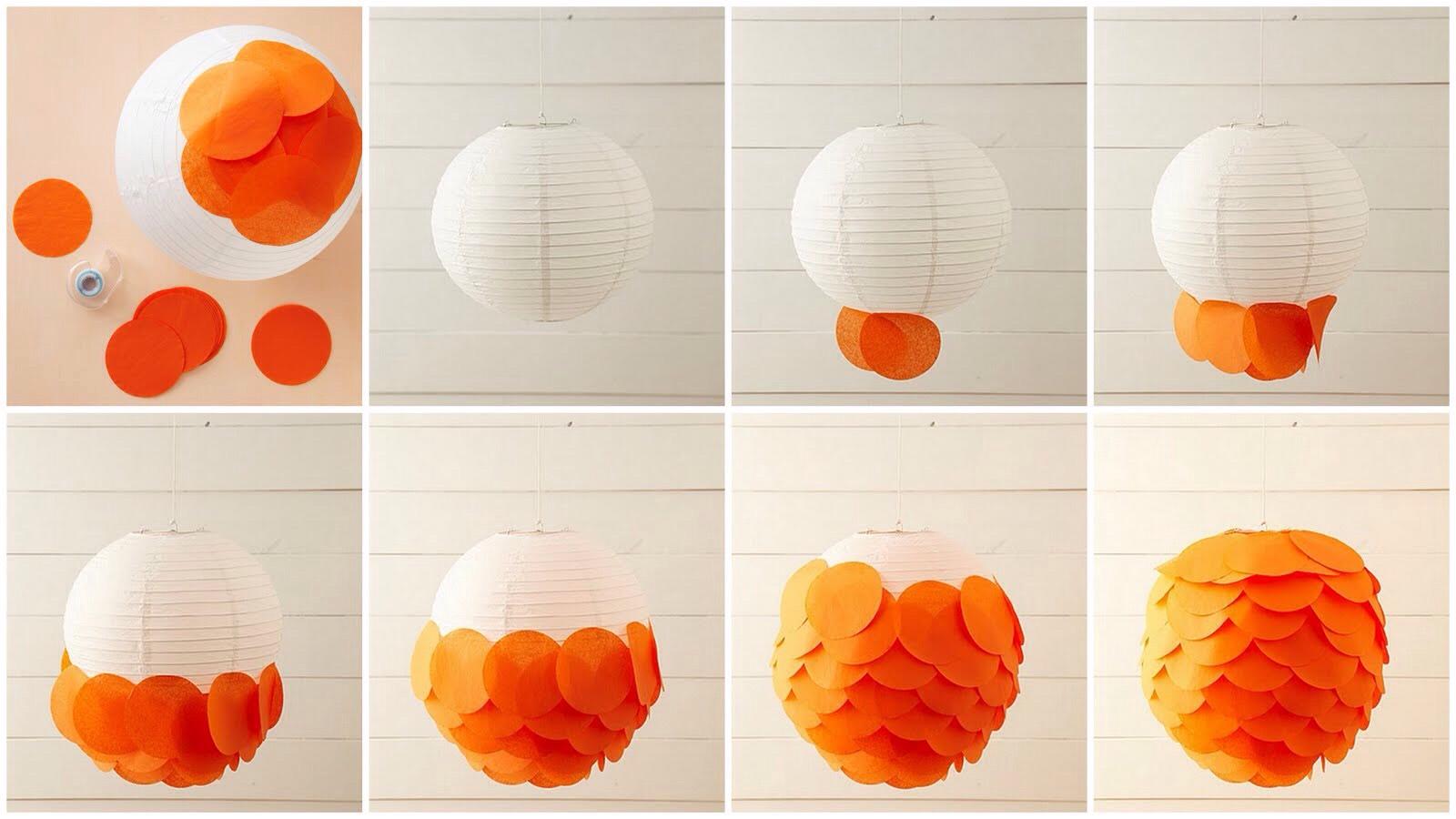 Make these lanterns