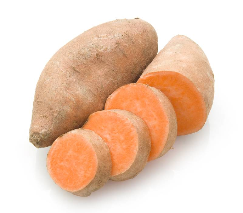 SWEET POTATOES are a powerhouse of nutrients - vitamin A and C, folic acid, potassium, fibre. Bake, mash, or roast them just like regular potatoes. They don't need marshmallows or sugar.