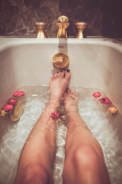 1) Take a hot bath❤ Science says sometimes the reason we can't sleep is because the hormones are changing in our bodies and a hot bath would help it's also relaxing!