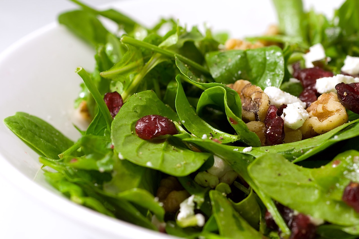 Salad is another great asset. A salad is made of vegetables! Be sure to use fat free dressings!