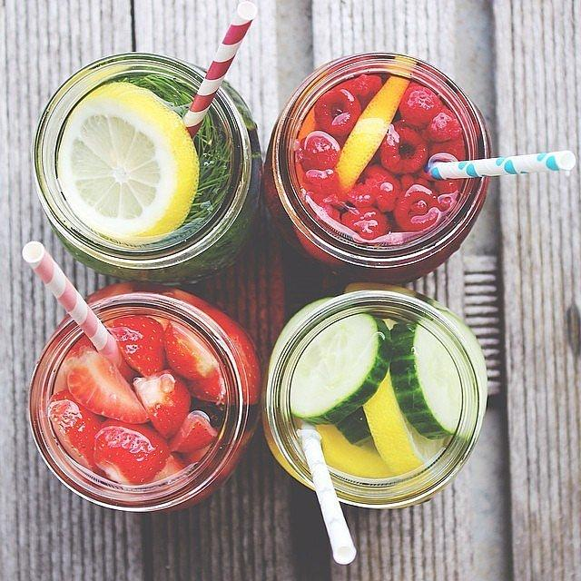 It's the Perfect Healthy Drink For Summer Between healthy fruit water and healthy fruit smoothies, you can stay hydrated in so many ways all season long.