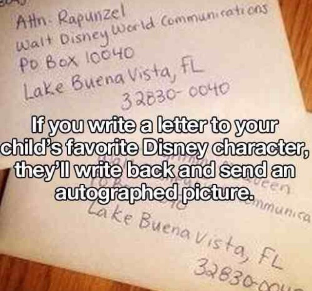 write a letter to disney character musely 25787